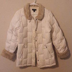 Land's End Child XL(Adult M)Goosedown Puffer Coat